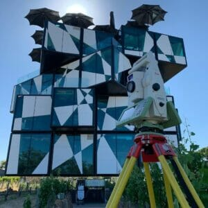 Working at the Iconic D'arenberg Cube in McLaren Vale
